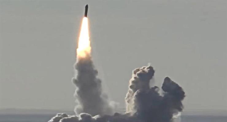 випробування ракети «Булава» пройшли успішно