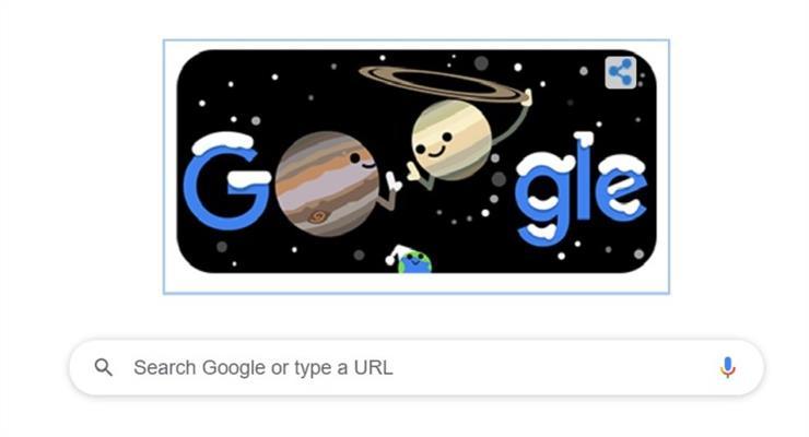 Google випустив дудл для астрономічної зими