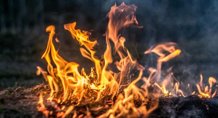 пожежа в таборі мігрантів