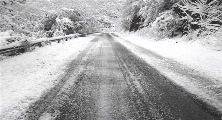 стихийное бедствие, снегопад