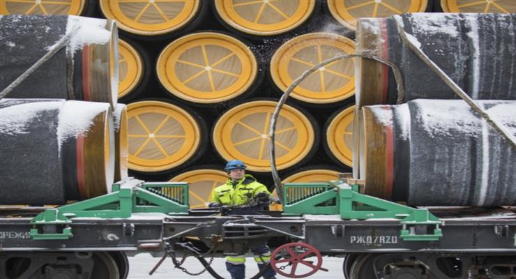 будівництво газопроводу триває