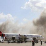 Аеропорт Адена обстріляний з мінометів в момент прибуття нового уряду Ємену