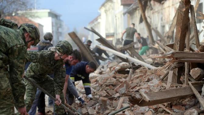 жертви землетрусу в Хорватії