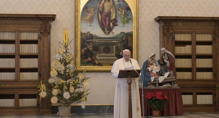 Папа Франциск звинуватив людей в егоїзмі