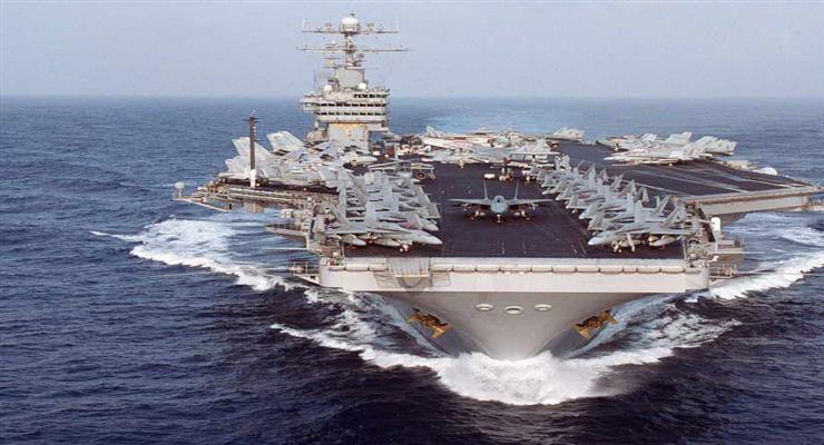 США вирішили поки не виводити свій авіаносець з Перської затоки