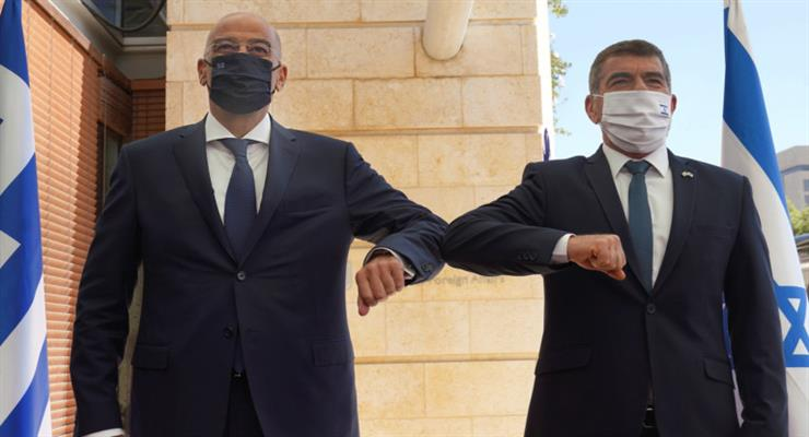 співпраця Греції та Ізраїлю