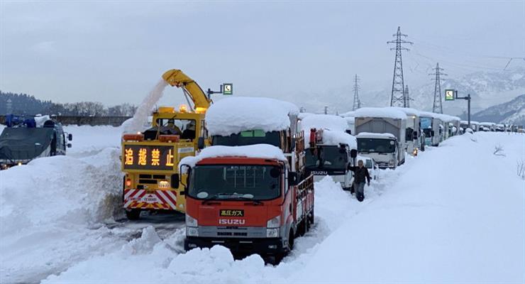жертви снігопаду в Японії