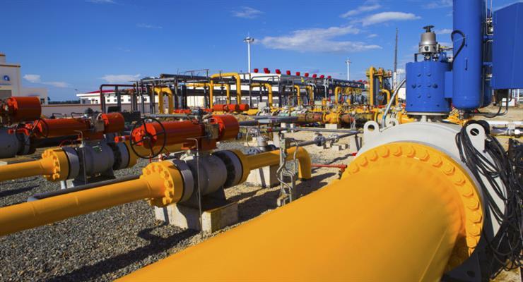 зменшився транзит газу через Україну