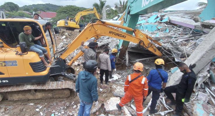 сильний землетрус в Індонезії
