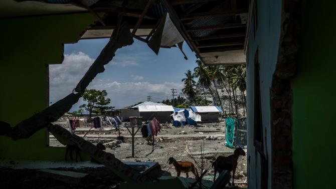 Индонезия пострадала от землетрясения