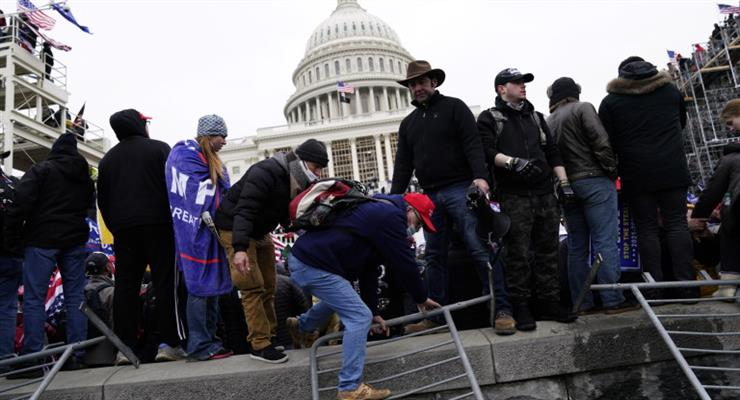 анализ протестов в США