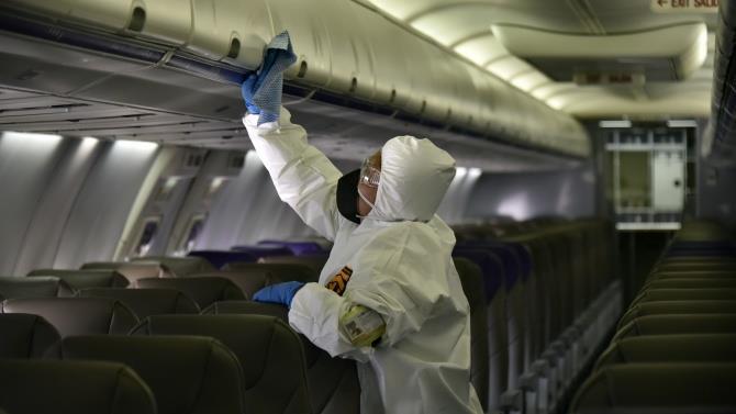 пассажирка с коронавирусом на борту
