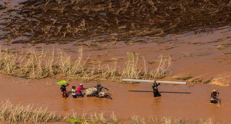 циклон Елоїза в Африці