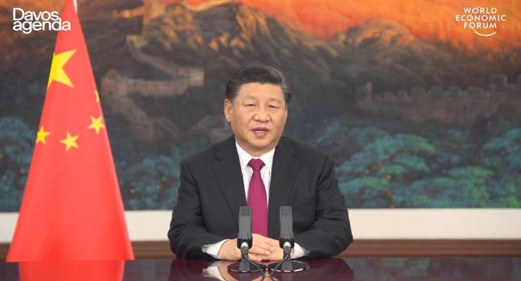 заяви Китаю на форумі в Давосі
