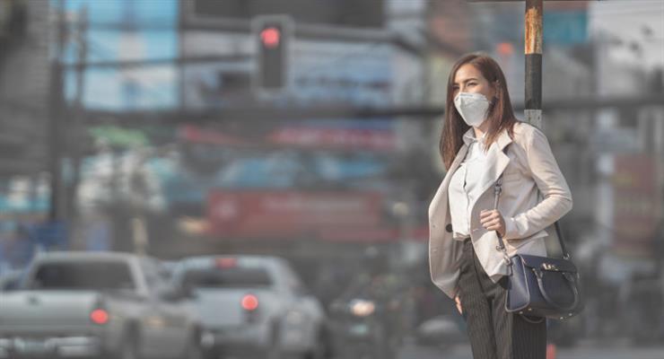 вплив забруднення повітря на зір