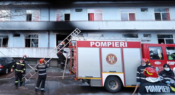 пожежа в лікарні