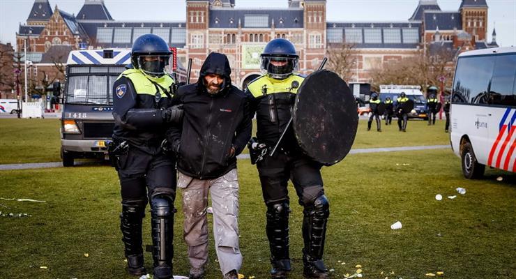 акції протесту в Нідерландах