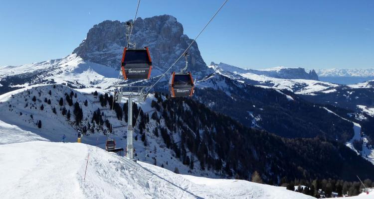 гірськолижний курорт в Італії