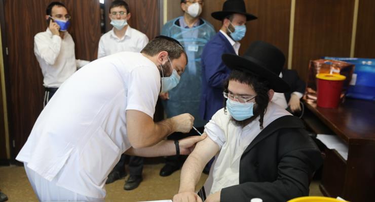 вакцинація в Ізраїлі