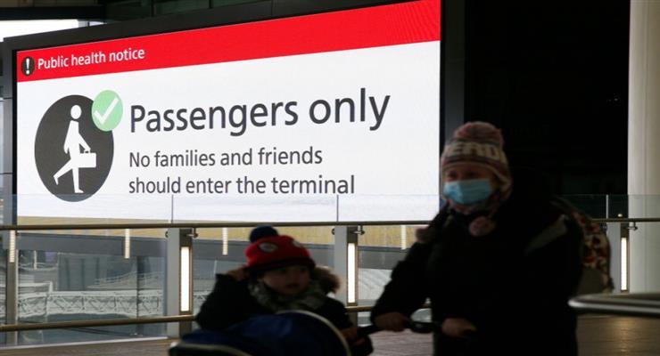 четверо пасажирів оштрафовані на 10 тисяч фунтів