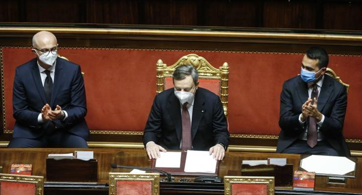 сенат проголосував за вотум довіри уряду Маріо Драгі