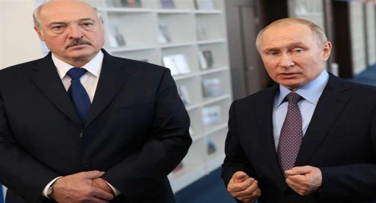 устріч Путіна і Лукашенка