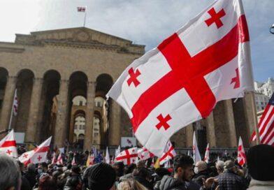 антиурядові акції протесту в грузинській столиці