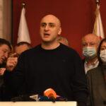 Ефектний арешт лідера грузинської опозиції після виборів нового прем'єр-міністра (ВІДЕО)