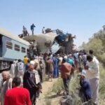 Десятки людей загинули при зіткненні двох потягів в Єгипті