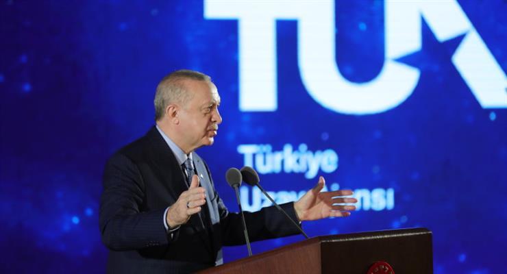 Ердоган запланував польоти на Місяць