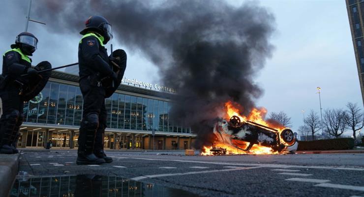 взрыв возле центра тестирования