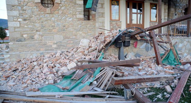 землетрус приніс руйнування