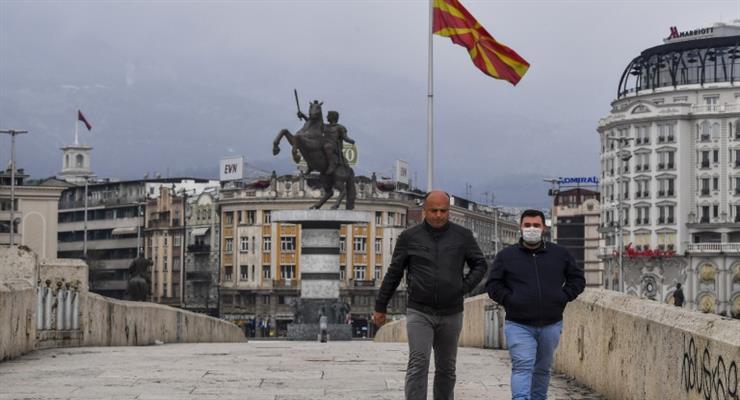 комендантська година в Північній Македонії