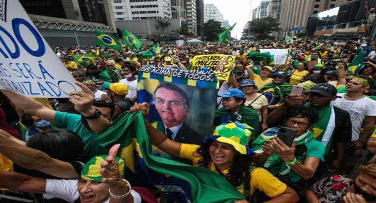 президент Бразилії проти обмежувальних заходів