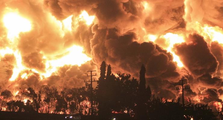 пожежа в Індонезії