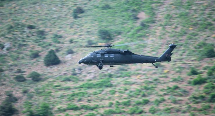 в Туреччині розбився вертоліт