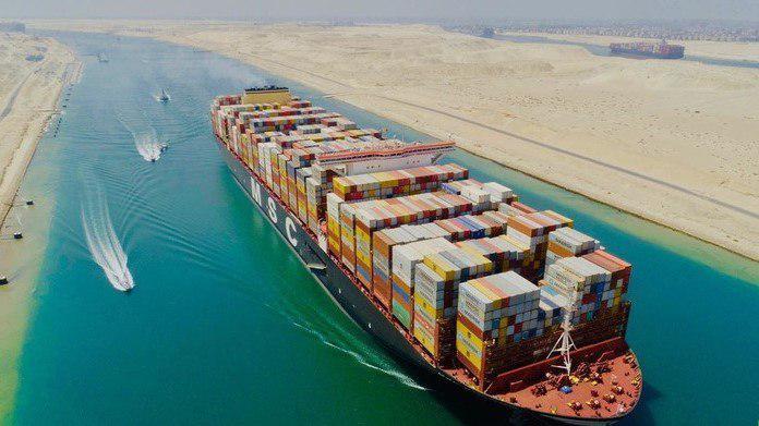 збиток від перекриття Суецького каналу