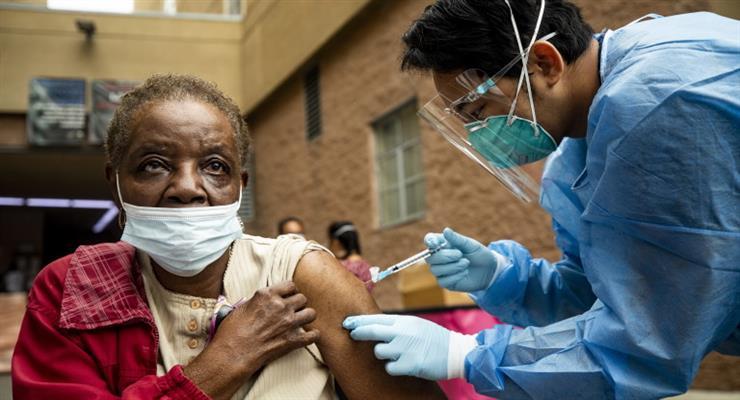 рекорд по вакцинації