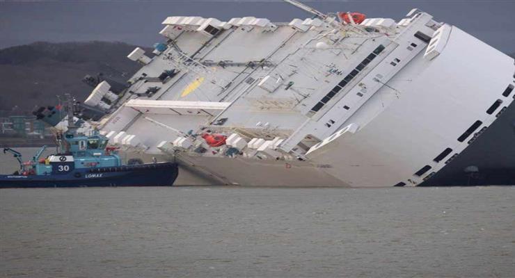 зіткнення порома з кораблем