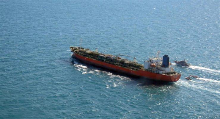 звільнено південнокорейський танкер
