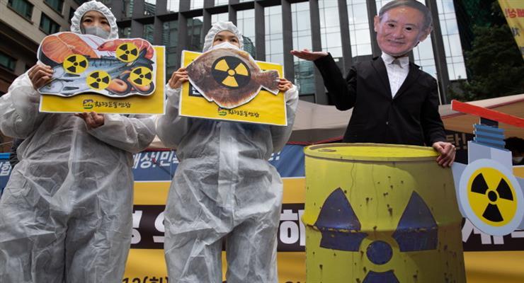 викид вод Фукусіми в океан
