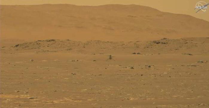 вертоліт на Марсі