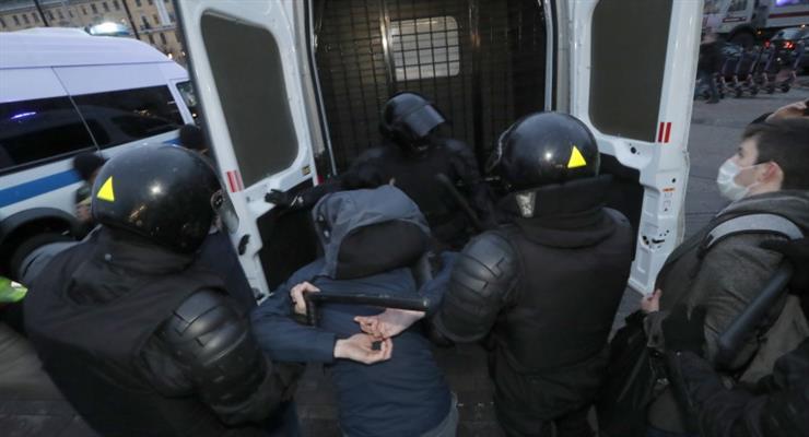протести на захист Навального