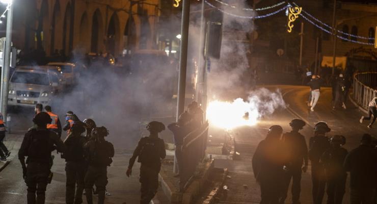 зіткнення палестинців з поліцією