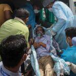 13 пацієнтів з COVID-19 загинули під час пожежі в лікарні в Індії
