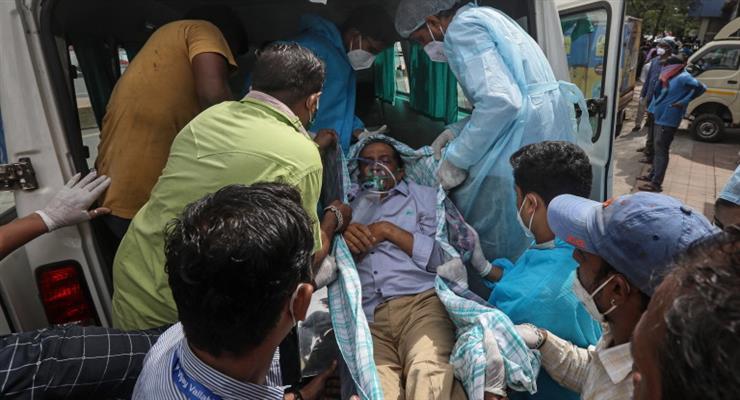 пожежа в індійській лікарні