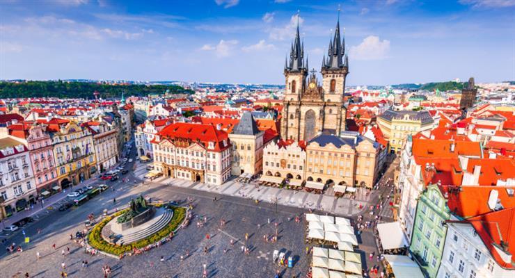 в Чехии заминировали МВД