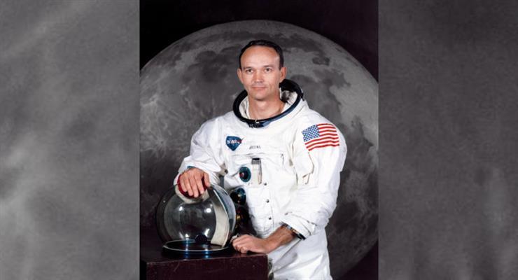 смерть астронавта Майкла Коллінза