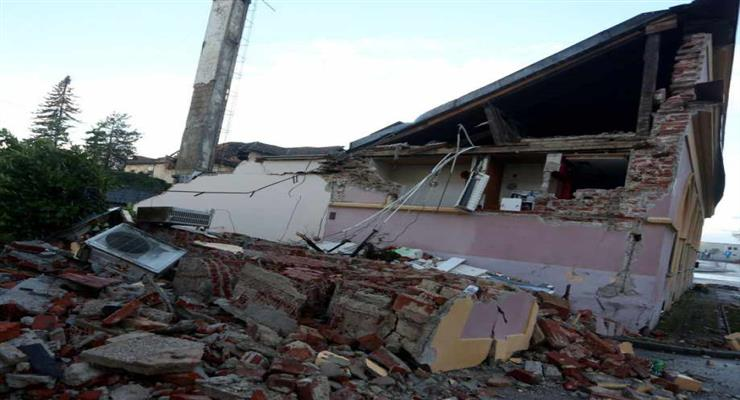в Індії потріскалися будівлі