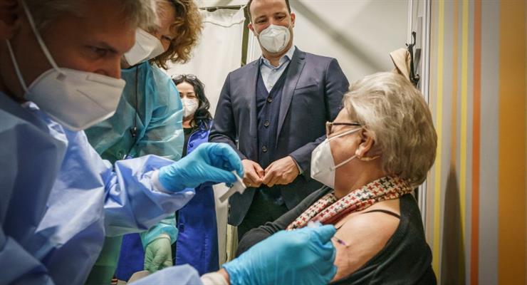 рекорд вакцинації в Німеччині
